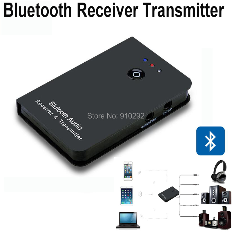 2 IN1 Bluetooth Audio Receiver Transmitter Wireless Music Adapter Mobile Phone /Tablet /PC Speaker/Smart TV - Icablelink Electronics Limited store