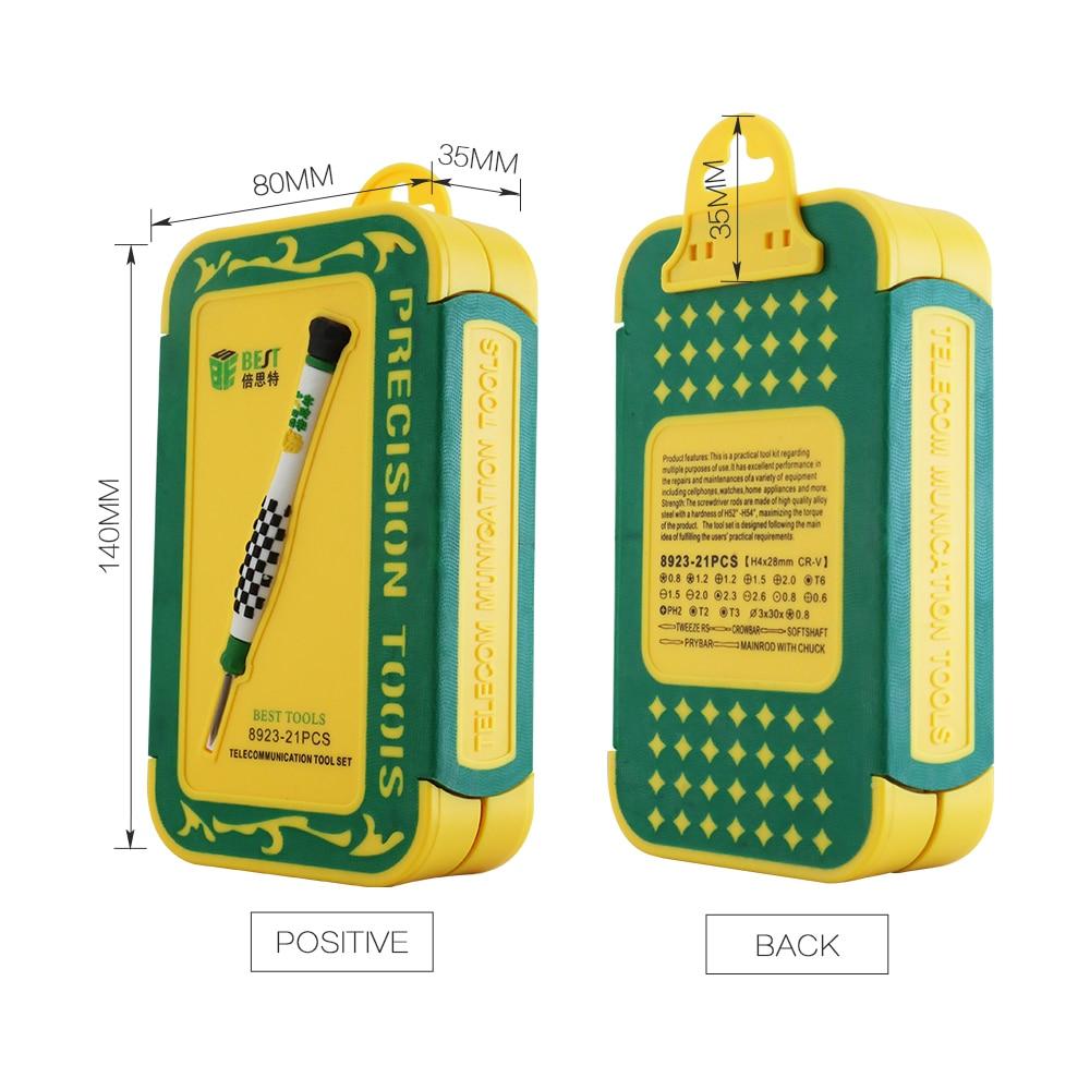 BST-8923 Multifunkční chytrý telefon na opravu nářadí sada - Sady nástrojů - Fotografie 6