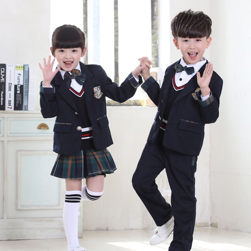 New England grid male and female pupils uniforms