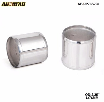 2.25 OD X 3 Aluminum INTAKE/TURBO INTERCOOLER PIPING JOINER PIPE For Honda Civic 2 Door Jdm 01-03 AF-UP76S225 image