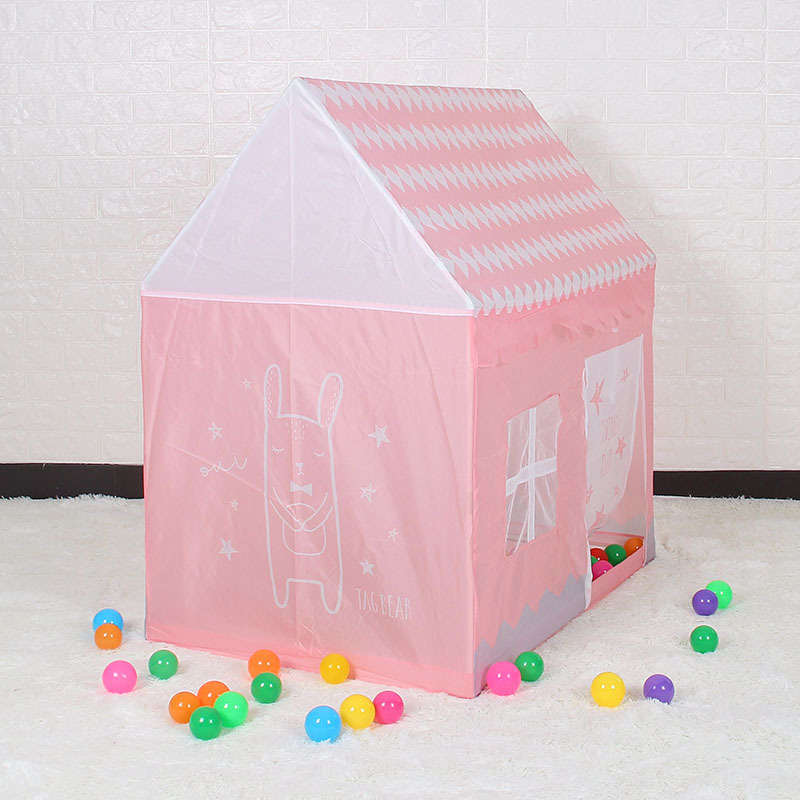YARD Childrens tent Girls Pink Princess Castle Cute Playhouse Kids Play Tent for kids Outdoor Toys Tent For Children Kids