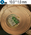 Copper Coiled Tube Size 10.0*1.0mm Soft Condition Air Condition Ferigerator Tube R410A