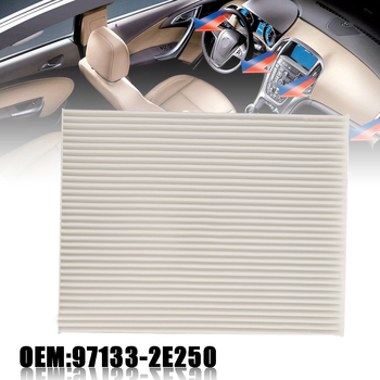 New Arrival 1pc Cabin Air Filter 97133-2H000 For Hyundai Elantra 2007-2016 Accent 2011 Kia Forte 2014-2015 image