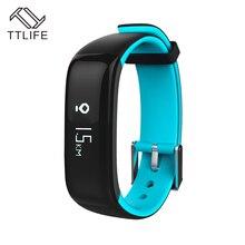 TTLIFE IP67 Водонепроницаемый Bluetooth SmartBand часы крови Давление монитор сердечного ритма браслет умный Браслет Для Xiaomi