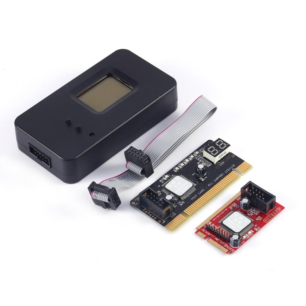 Mini PCI-E PC PCI De Diagnostic Test Testeur PC Debug Carte Postale Pour Ordinateur Portable/De Bureau