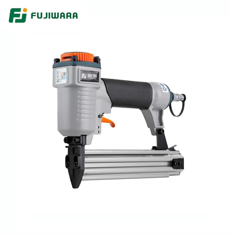 FUJIWARA F30 Pneumatic Nail Gun Air Stapler Home DIY Home Decoration F10 F30 Straight Nail