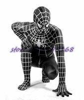 Black Spider Costume Spiderman Cosplay Adult Superhero Costume Venom Black Spider Zentai Suit Dark Spiderman Jumpsuit