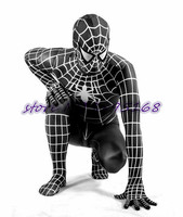 Black Spider Costume Spiderman Cosplay Adult Superhero Costume Venom Black Spider Zentai Suit Dark Spiderman Jumpsuit