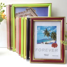 Europe Vintage Photo Frame Home Decor Wooden Wedding Couple Pictures Frames Children Home Family Picture Display Tabletop Decor