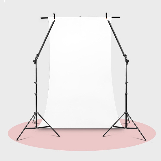 Photographie D'éclairage Gradateur 2LED Bandes 2 Lumière Stands 1Kit Fond Stand Kit avec Pinces Pour Photo Studio Caméra Photo