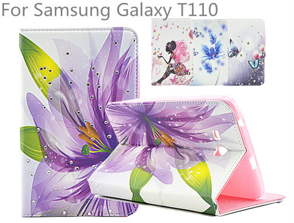Case Cover for Samsung Galaxy Tab 3 Lite 7 inch tablet T110 T111