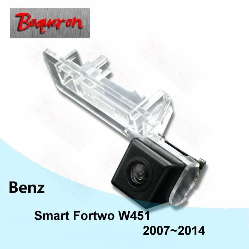 Dla Mercedes Benz Smart Fortwo W451 2007 ~ 2014 widok z tyłu samochodu kamera HD CCD Night Vision Parking cofania kamery NTSC PAL