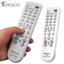 TOFOCO Universal TV Remote Control Wireless Smart Controller Replacement Wireless Remote Controller  139F Portable Super Version