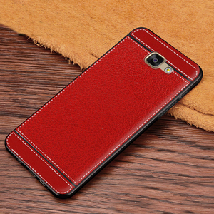 Image 4 - Case for Galaxy A7 2016 Leather Texture Soft TPU Case For Samsung Galaxy A7 2016 A710 A7100 A710F A710M