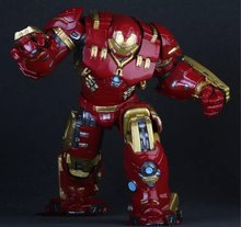Crazy font b Toys b font Marvel Avengers Hulkbuster 25cm Ironman Super Hero PVC Action font