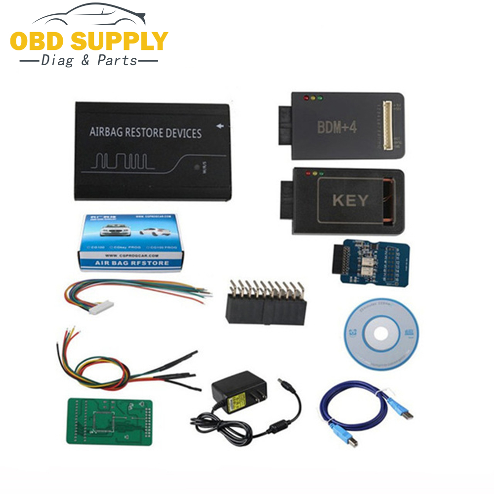 DIY Repair Tool Renesas Airbag Reset Tool with All Function CG100 PROG III 3 Airbag Restore V3.9 Devices CG100