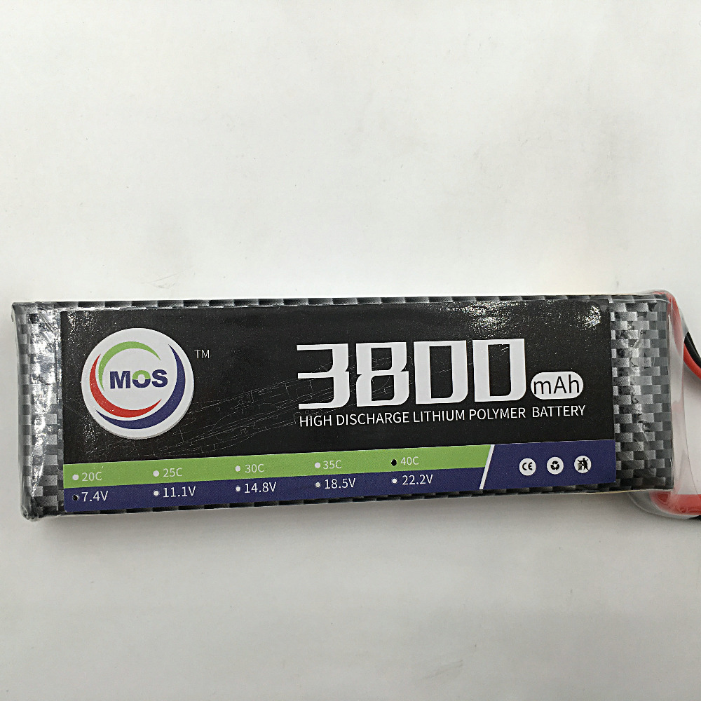 MOS 3S 11.1v 3800mah 25c lipo battery for rc airplane free shipping 2pcs package mos 3s lipo battery 11 1v 1300mah 35c for rc airplane free shipping