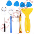For iPad Mini 1/2, for iPad AIR, for iPad 2/3/4 11 in 1 Opening Tools Set by free shipping; 10pcs/lot