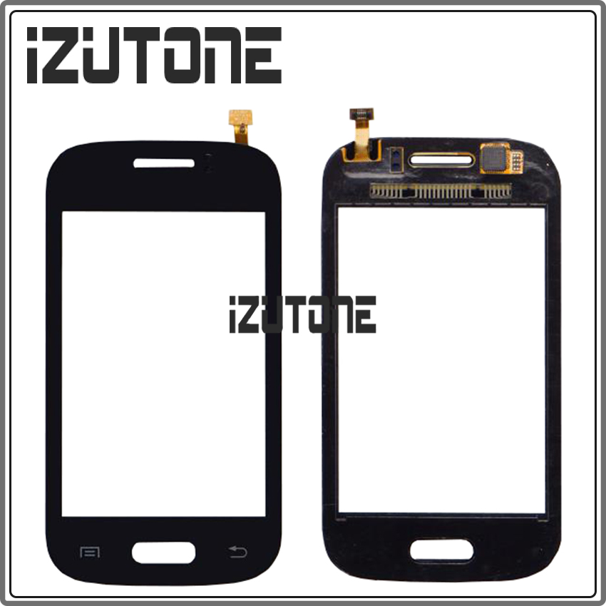 3.27 inch black For Samsung Galaxy Young Duos S6310 S6312 Digitizer Touch Screen sensor panel without Duos by free shipping