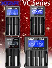 XTAR VC2/VC2 Плюс/VC2S/VC2 2019/VC4/зарядное устройство для 10440/16340/14500/14650/18350/18500/18650/18700/26650/22650