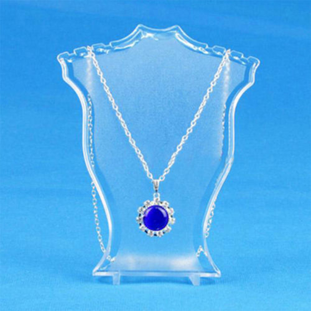 High Pendant Necklace Earrings Bust Neck Jewelry Display Stand Holder Showcase