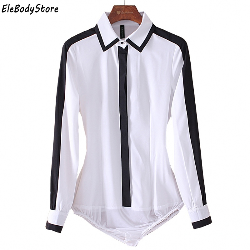 EleBodyStore 2018 Blusas Blouse Body Shirt Women Tops White Blouses Chiffon Casual Long Sleeve Woman Shirts Work Clothing Autumn