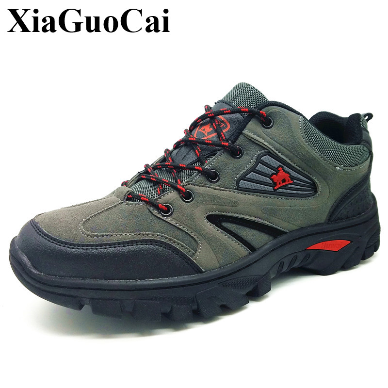 Men Casual Shoes Lace-up Flats Shoes Spring Outdoor Causal Shoes Antiskid Wearable Waterproof Traveling Shoes Work Boots H102 35