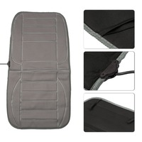 Universal 12V Rapid Intelligent Electric Heated Car Seat Cushion Winter Car Seat Heated Household Cushion Black