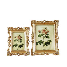 Continental American style gold resin luxury photo frame creative fashion like frame wall decoration continental american style gold resin luxury photo frame creative fashion like frame wall decoration