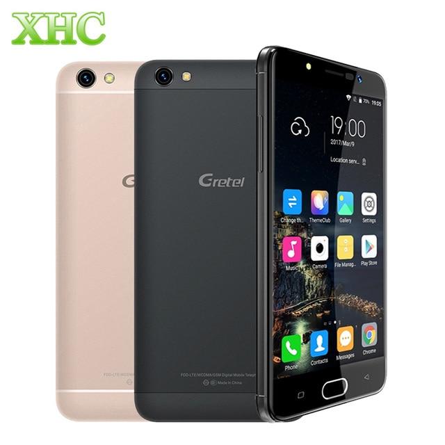 Gretel A9 16GB 4G LTE Smartphone Dual SIM Dual Camera 5.0'' Adroid 6.0 MT6737 Quad Core 1.25GHz Front Fingerprint Mobile Phone