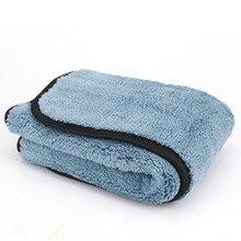 45*38 CM Super-Spessa Peluche In Microfibra Auto Panno di Pulizia Ultra Fibra Multa Lucidatura Cera Cura Dell'auto Lucidatura Dettagliante asciugamano