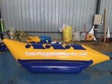 3 seats Inflatable Water Banana Boat Buoys