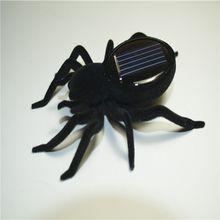 Горячая солнечный паук Тарантул Обучающий робот страшный гаджет против насекомых игрушка-трюк солнечная игрушка солнечная детская игрушка робот игрушка высокое качество