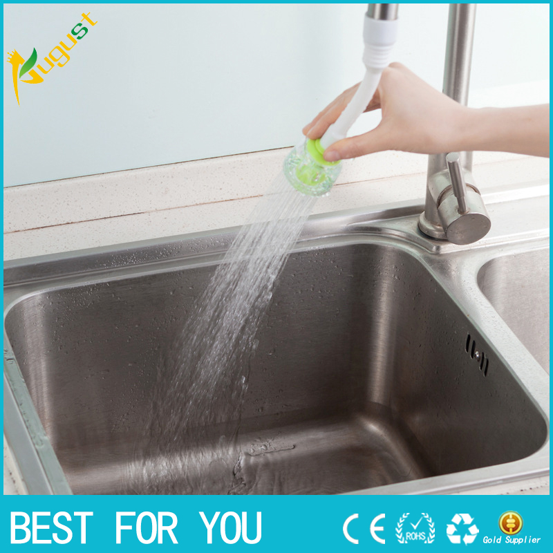 1pc Rotary water valve anti splash tap water filtration mouth valve economizer kitchen bathroom shower faucet water-saving