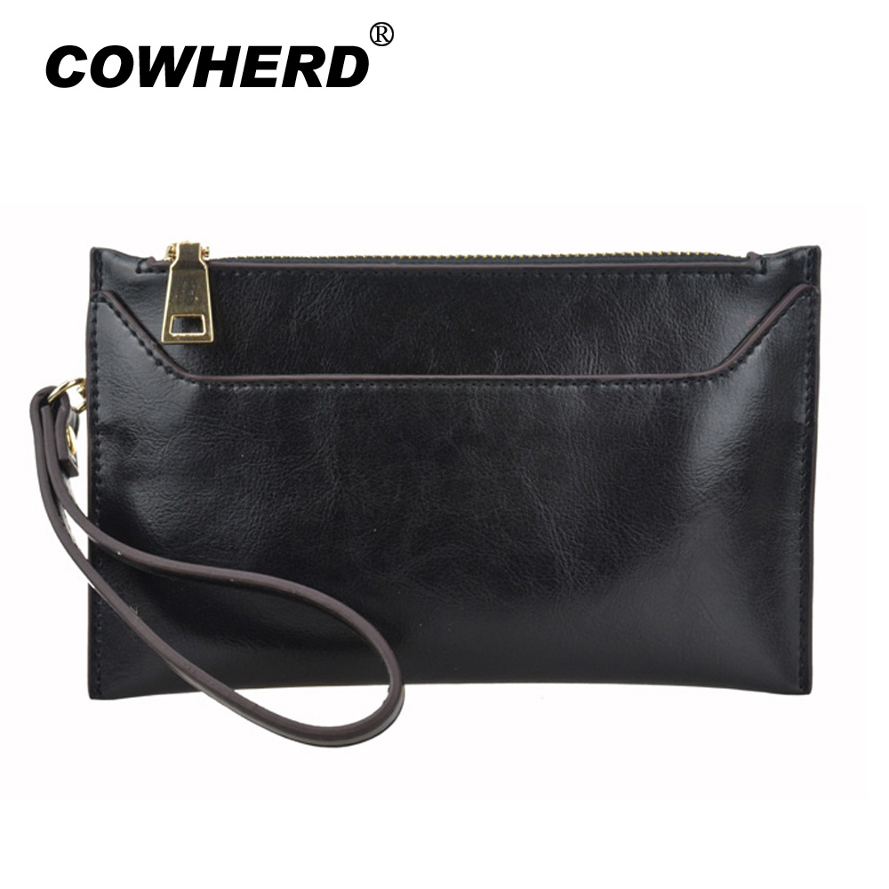Free Shipping 2017 Oil Wax Genuine Cow Leather clutch women  evening bags lady Fashion coin purse bag ,CN-1367 2015 top fashion toner parfumes women free shipping special offer free shipping genuine moist skin zimei tea tree oil acne water