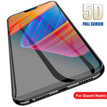 цена на 5D Glass For Xiaomi Redmi 7 7A 6 6A K20 Pro Redmi Note 4 5 6 7 Pro 7S smartphone Full Cover Screen Protector Toughened Film