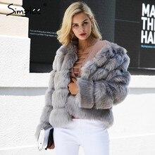 0ea1e9d4d9a978 Simplee Vintage fluffy faux cappotto di pelliccia delle donne Breve  pelliccia finta pelliccia di inverno tuta