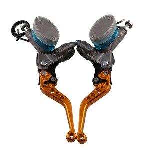 Image 2 - Een Paar Universal Brake Hand Remhendel Rem Koppeling Motorcycle Gemodificeerde Hydraulische Koppeling Links Rechts Rem Pomp Gratis Verzending