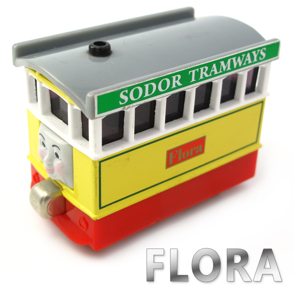 Diecasts Vehicles Thomas T056D FLORA Thomas And Friends Magnetic Tomas Truck Car Locomotive Engine Railway Train Toys for Boys