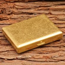 Brass Cigarette case(hold 20 pcs) holder case box Accessories