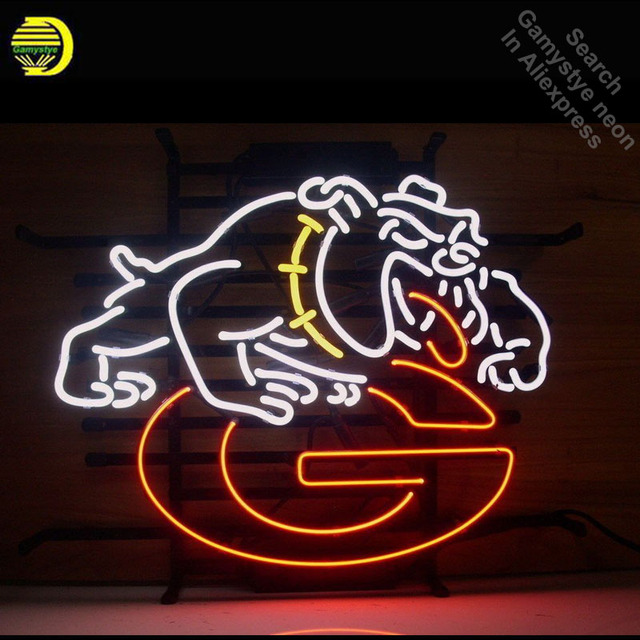 Dog Neon Sign neon bulb Sign lights real glass Tube Handcraft Iconic Sign Display neon lights for sale personalized Lamps
