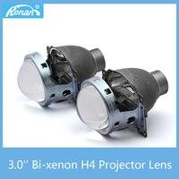 RONAN CAR STYLING 3 0 Bi Xenon HID H4 Projector 2pcs Lens For Q5 Use Xenon