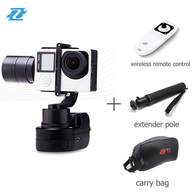 цены  Zhiyun Z1 Rider-M 3-Axle Wearable Camera Gimbal for GoPro 3 4 Xiaomi Yi SJCAM With APP Wireless Remote Control free shipping