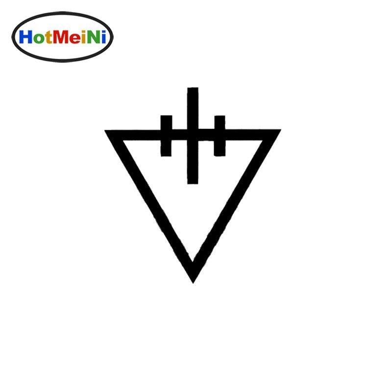HotMeiNi 15x14cm The Devil Wears Prada Throne Band logo Car Laptop Decal Vinyl Car Sticker Black/Sliver