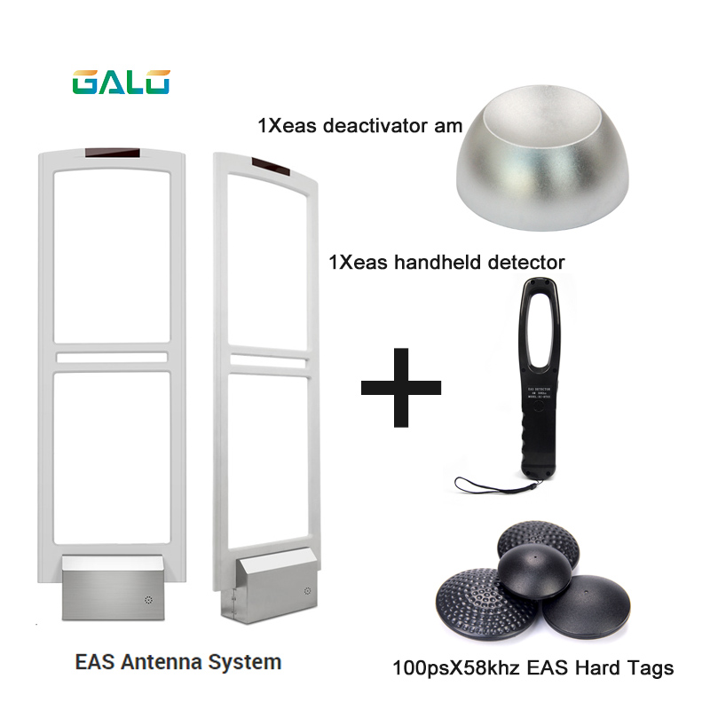 Eas Anti Theft Device Shop Supermarket Anti-theft EAS Gate Alarm Security System