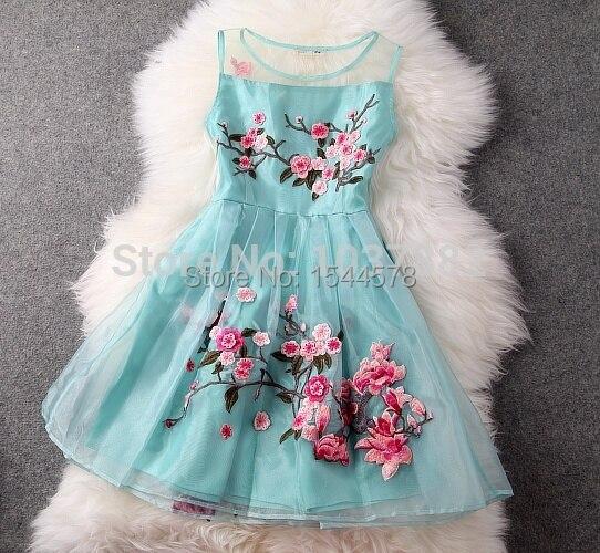 Online Shop Lowest price online!! Boutique Vintage Dress 2015 new ...