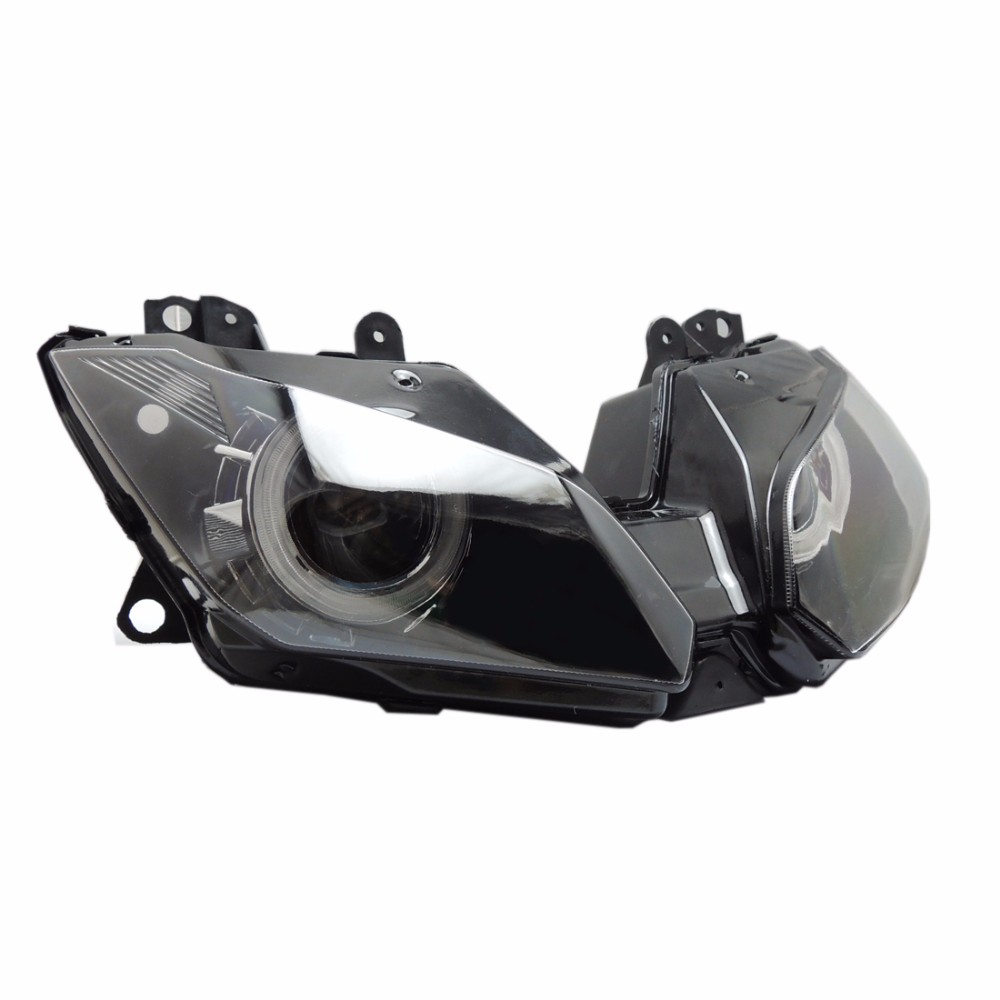 2013-2016 Ninja250 Ninja300 ZX6R Angel Eye HID Projector Custom Headlight Assembly for Kawasaki Ninja 300 ZX-6R 2013-2016 (12)