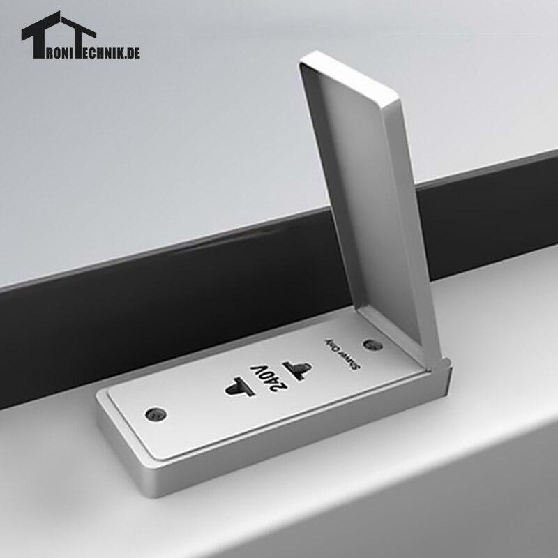 Bluetooth iluminado espejos de pared para baño 1 UNID de 50x70 cm ...