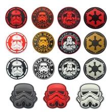 Storm Trooper JEDI ORDER IMPERIAL Clone Wars COFFEE 501st Legion Rebel imperial 3D PVC Patch BADGE