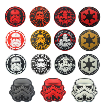 Storm Trooper JEDI ORDER IMPERIAL Clone Wars IMPERIAL COFFEE 501st Legion Rebel Legion imperial 3D PVC Patch BADGE